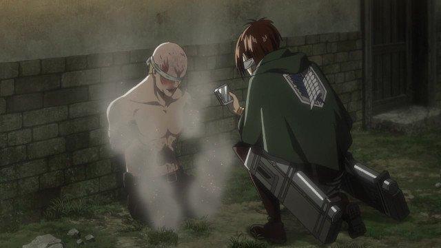 Атака титанов 3 сезон 18 серия