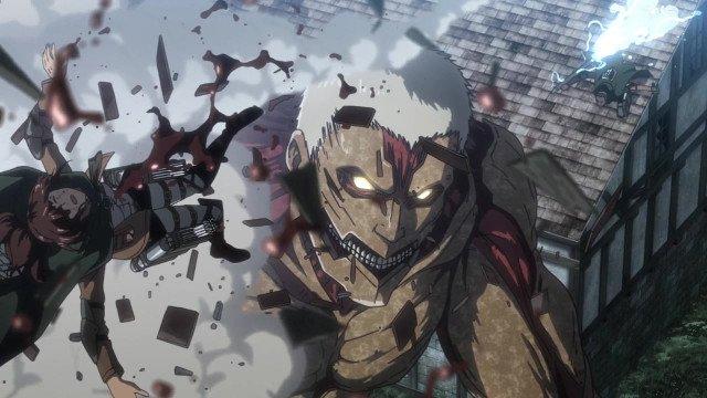 Атака титанов 3 сезон 17 серия