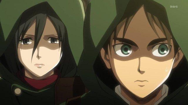Атака титанов 1 сезон 23 серия